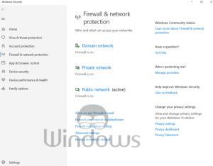 Disable Windows Firewall & Antivirus