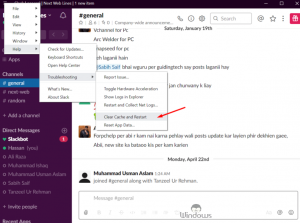 Fix The Slack Does Not Open Links