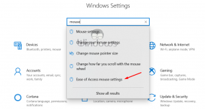 Disable Arrow Keys Moving Mouse Pointer