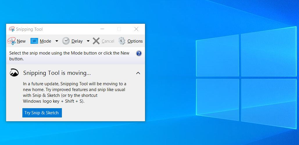 Fix Snipping Tool Email Not Working on Windows 10