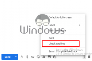 Enable Spell Check in Gmail