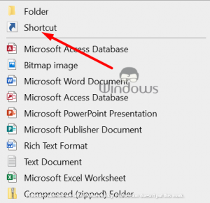 create a shortcut of Task Manager