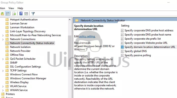 Using Group Policy