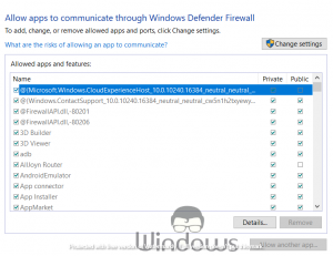 Check if Windows Firewall is blocking a program