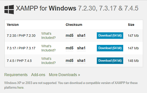 How-to-install-and-configure-XAMPP-on-Windows-10
