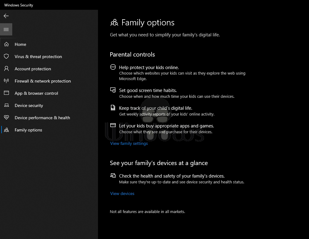 Family options