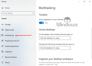 How To Disable Edge Tabs in Alt+Tab Dialog - WIndows 10