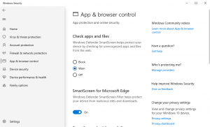 Install Windows Defender Browser Protection in Edge