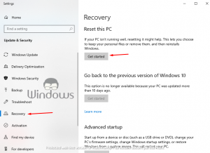 Recover Windows 10 Recovery/Boot Partition If Deleted