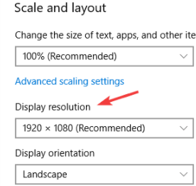Dual Monitors Setup With Different Resolutions - Windows 10