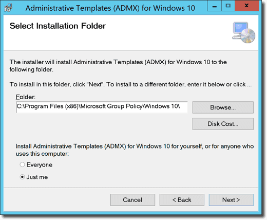 Download Administrative Templates for Windows v20H2