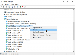 disable-wireless-adapter-driver