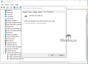 USB Device Not Rec­og­nized in Windows 10