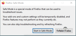 Firefox Printing Blank Pages