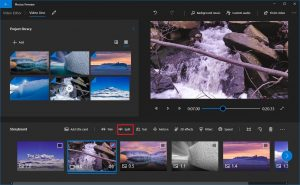 Create a Video from Images using Photos app in Windows 10