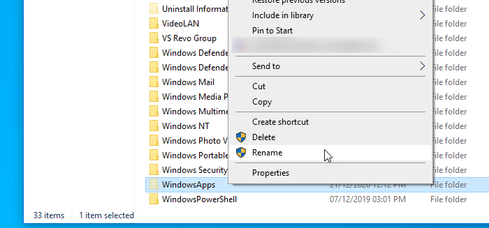 Fix We couldn't set your default save location, Error 0x80070005 in Windows 10