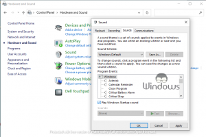 Disable Startup Sound in Windows 10