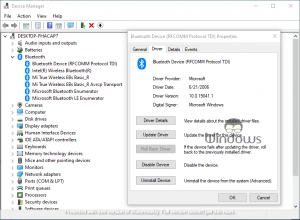 Fix Bluetooth Not Working After Windows 10 Update