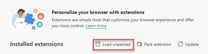 Load-Unpacked-Extension-Browser