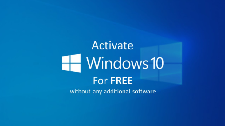 Activate Windows 10 For Free Without Any Software