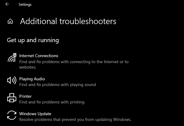 Run the Windows Store Apps Troubleshooter