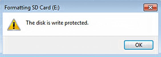Fix: 'Media is Write Protected' in Windows 10